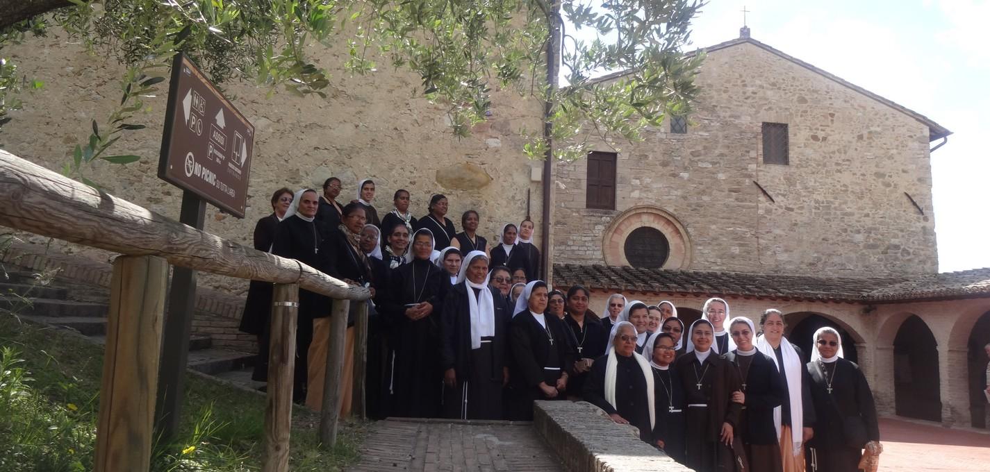 Capitolo Generale 2017: Visita ai luoghi francescani della nostra spiritualità