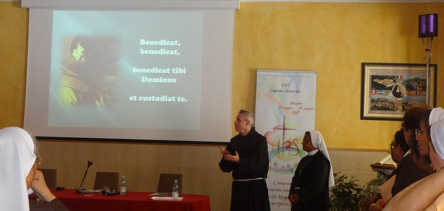 Capitolo Generale 2017: Il successore di san francesco…tra noi!