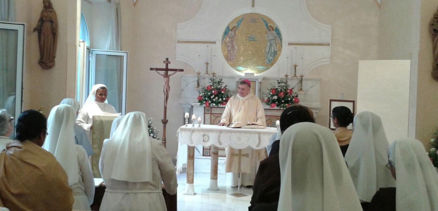 Visita Mons Carballo
